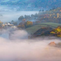 Nestled Retreat I - Mist Over Grasmere