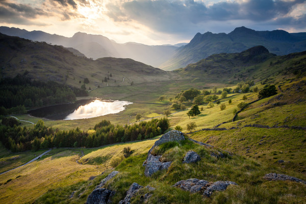 Light Over the Langdales
